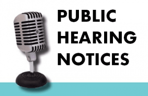 Public Hearing Notice: Draft Regional Plan Review