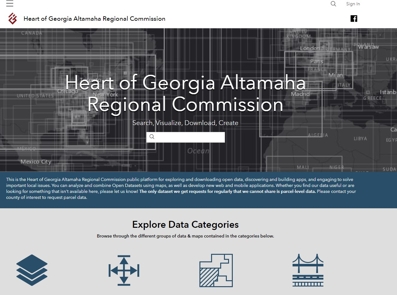 HOGARC Geospatial Open Data Portal