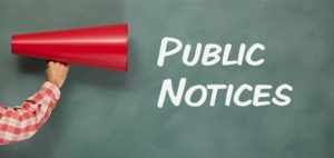 PUBLIC NOTICE FOR SECTION 5310